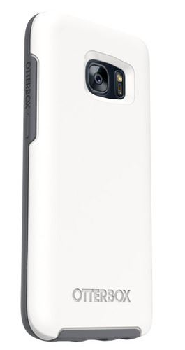 OtterBox Case Galaxy S7 Edge לבןאפור