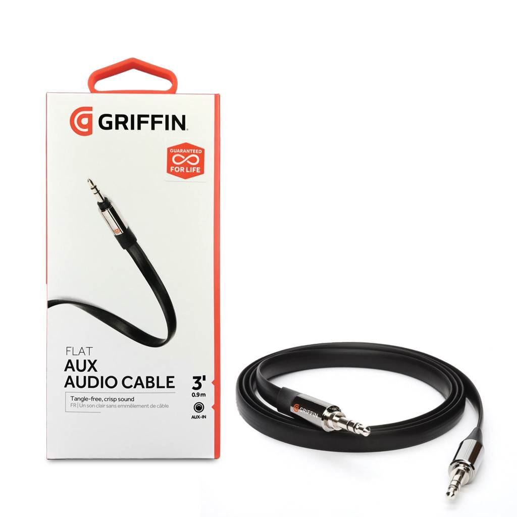 Griffin Aux Cable 0.9m שחור