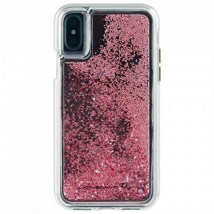 CaseMate Waterfall iPhone X ורוד