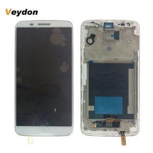 החלפת מסך LG G2 D802 לבן