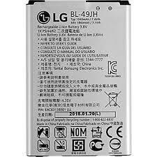 החלפת סוללה LG K4